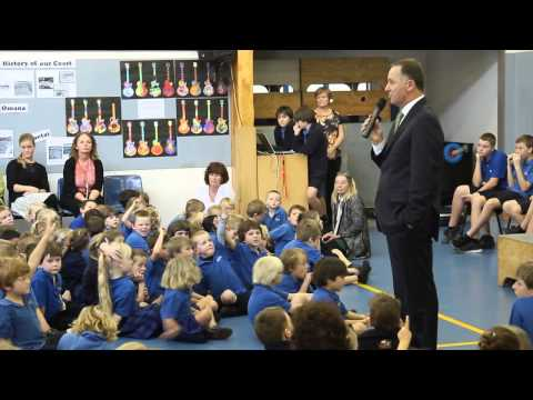 Eastern Courier - John Key visits Beachlands School from YouTube · Duration:  2 minutes 33 seconds