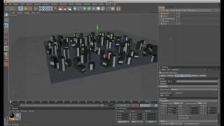 [Cinema4D] Create A Random City