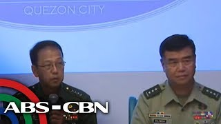 WATCH: Armed Forces of the Philippines press briefing | 13 August 2018