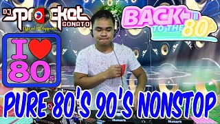 PURE 80S 90S NONSTOP | NEW WAVE | RETRO REMIX | DJ SPROCKET LIVE