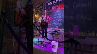Ashton Brooke Gill singing a cover of My Church by Maren Morris at The Row