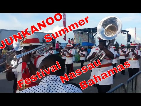 Grand Hyatt Nassau Bahamas Baha Mar and Trip Downtown to Junkanoo Summer Festival