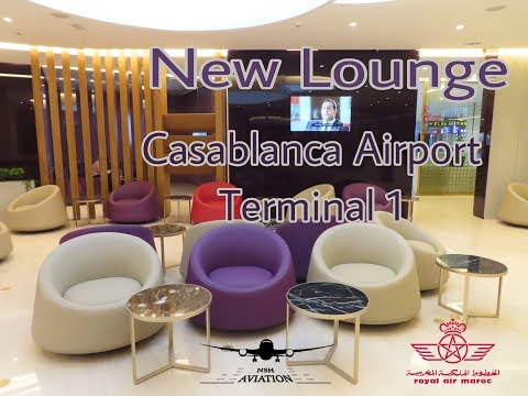 New Royal Air Maroc Lounge | Casablanca Mohamed V Airport  | Brand New Terminal 1