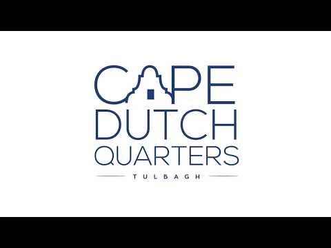 Cape Dutch Quarters in Tulbagh, South Africa