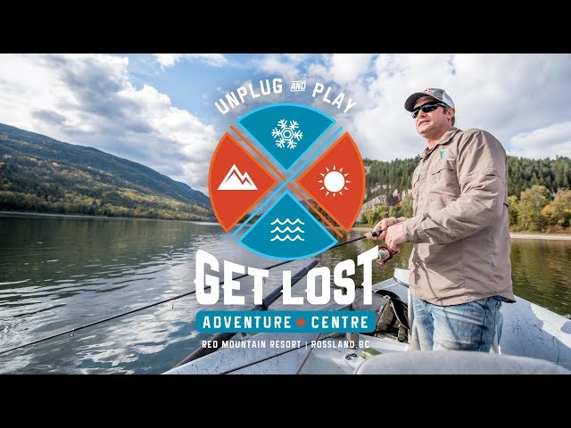 Fish on the Beautiful Columbia with the GET LOST Adventure Centre!