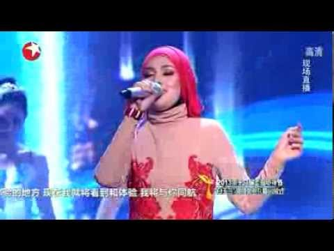 Shila Amzah - Time To Say Goodbye (Con Te Partirò) @ Shanghai TV Festival 2013