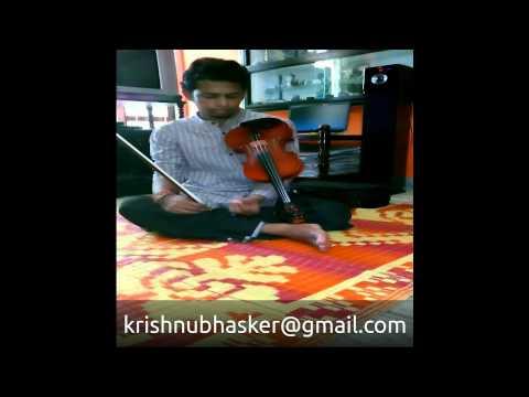 Malare Premam Instrumental(Violin)by KrishnuBhasker
