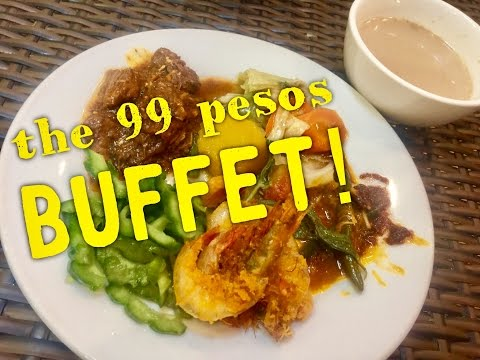 The Cheapest Buffet in the Philippines 99 Pesos at Partyland SM City Pampanga