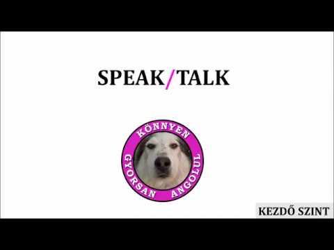 SPEAK/TALK