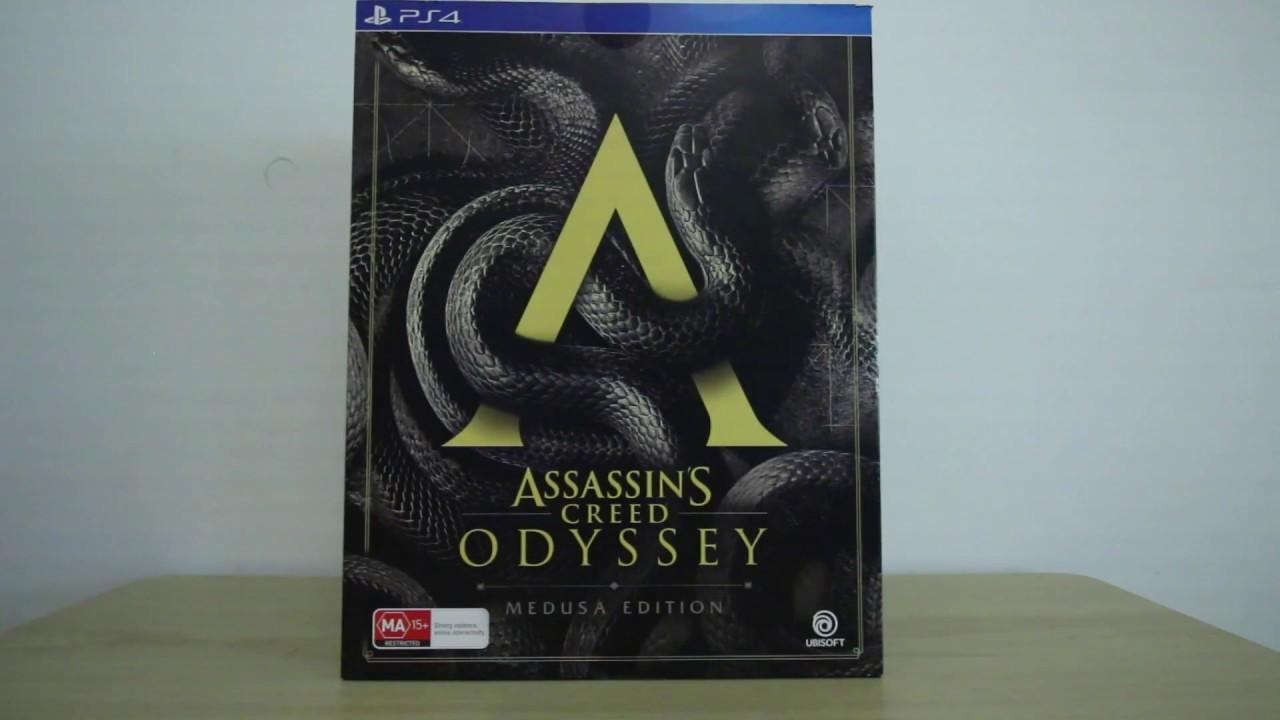 assassins creed odyssey medusa edition price