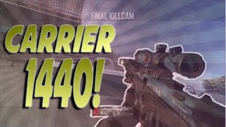 Black Ops 2 - Clean Shot! - Trickshot - Private Match - Carrier