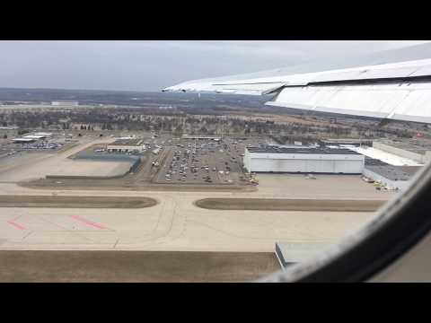 Delta Airlines MD-88 Minneapolis-Saint Paul to Detroit (Full Flight)
