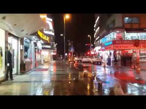 turkey kayseri at night