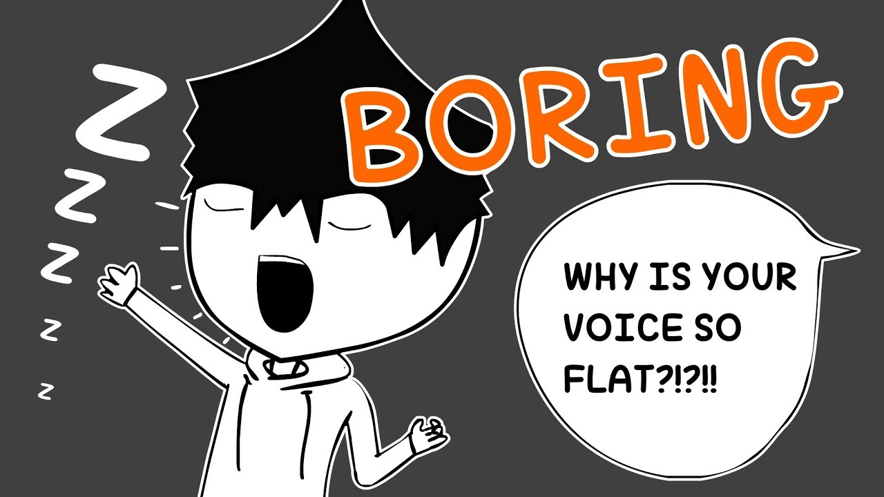 How to make your voice less monotone