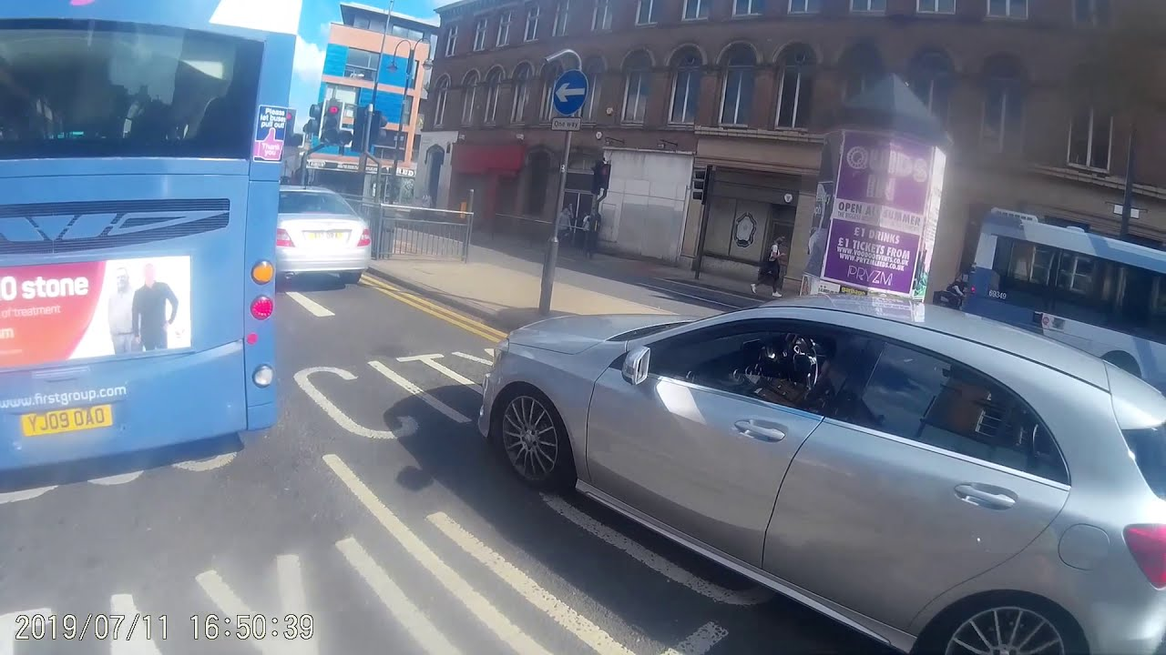 Leeds Cyclist Head Cam - Caught on Camera - July 2019