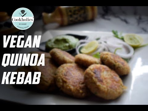 Vegan Quinoa Kebab on World Vegan Day by Cookholics' by Shaiby