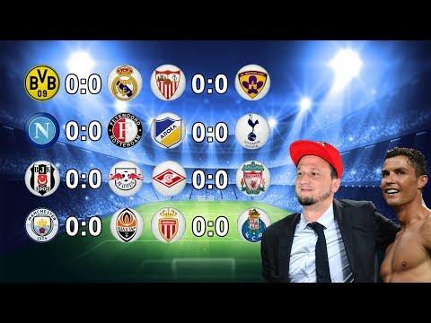 Ergebnisse Champions League Spiele