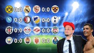 [🔴 Live] Champions League Konferrenz 2. Spieltag | Alle Spiele + Alle Ergebnisse