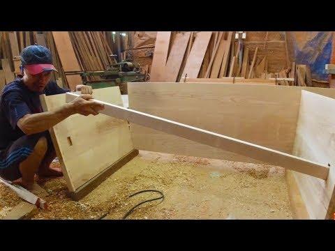 Making Create Wooden Desk Table  DIY Wood