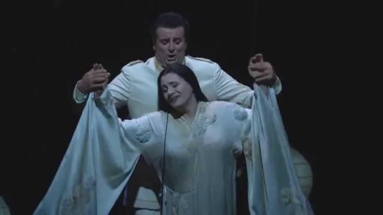 """Madama Butterfly: """"Vogliatemi bene"""" -- Patricia Racette & Marcello Giordani (Met Opera)"""