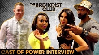 Cast of Power Interview With The Breakfast Club (7-15-16)