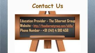 What Is Skill India - The Sibernet Group