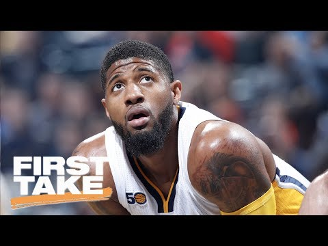 Can Paul George Help Cavaliers Beat Warriors? | First Take | June 19, 2017