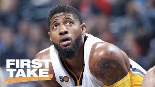 Can Paul George Help Cavaliers Beat Warriors?   First Take   June 19, 2017