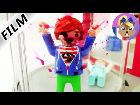 Film Playmobil en français - L'ascenseur s'écrase! Accident sanglant au centre commercial
