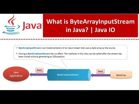 Java Tutorial : Java IO (ByteArrayInputStream)