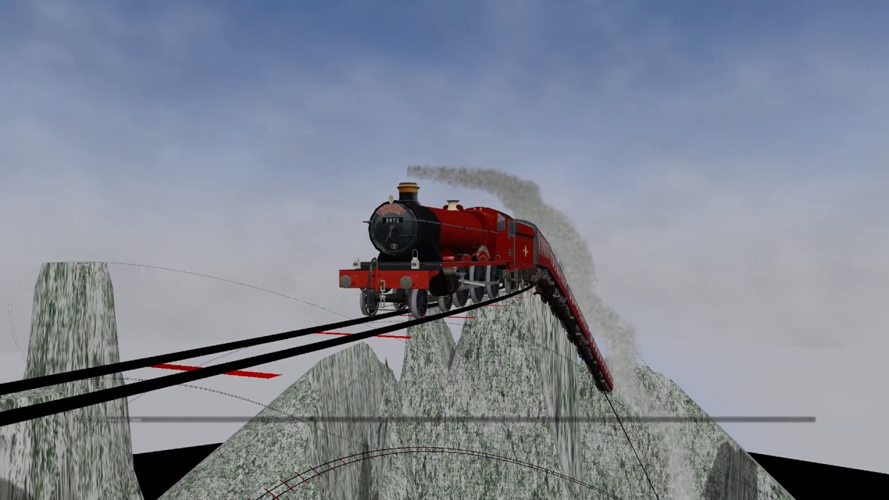 Hogwarts Express Train Ride - Harry Potter's Train / Very ...