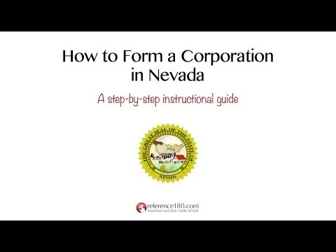 How to Incorporate in Nevada