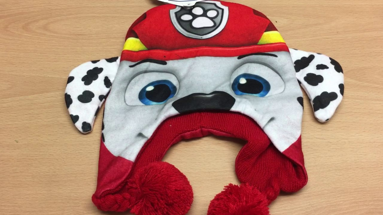 Paw Patrol  Beanie Hat - Marshall - YouTube 720e88d2e57