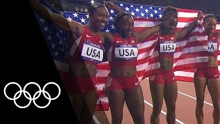 Women's 4x100m Record Breakers