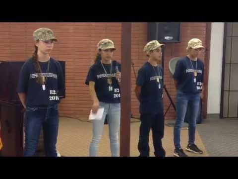 Enlisted to Endure 2016 Teen Boot Camp Testimonies (The Potter House Carson, California)