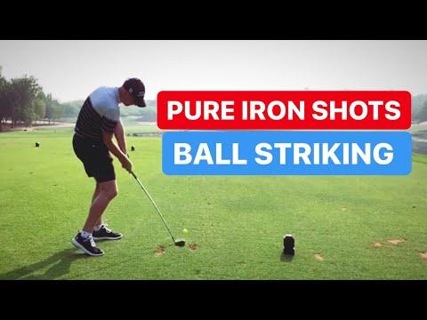 BALL STRIKING GOLF SWING BASICS FOR PURE IRON SHOTS