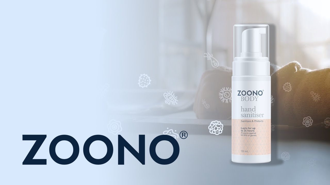 Learn About Zoono S Hand Sanitiser Youtube