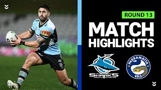 Sharks v Eels | Round 13 2020 | Telstra Premiership | NRL