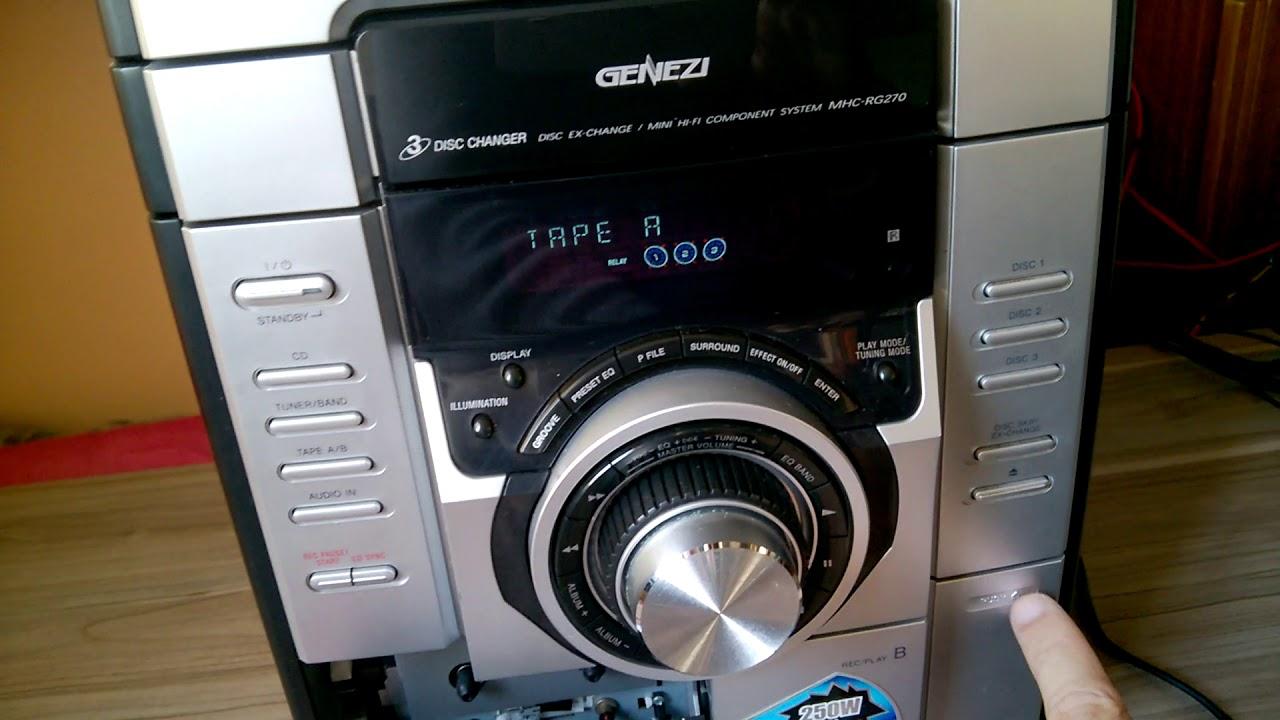 Micro System Sony Hcd Rg 270 - Stk Pipocando
