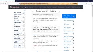 When Spring creates a JDK dynamic proxy?   javapedia.net
