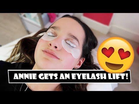 Annie Gets An Eyelash Lift 😍 (WK 378.6) | Bratayley