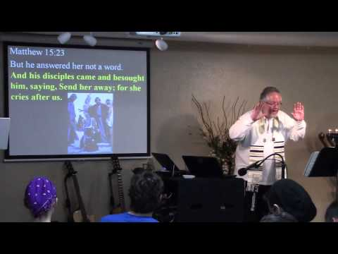 The Lost Sheep Of The House Of Israel - Matthew 15:21-28