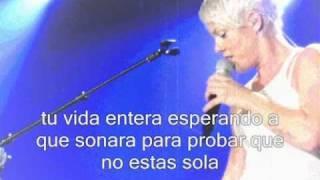 P!nk - Glitter in te air  Subitulos en español