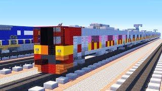 Download Video Minecraft 205 Series Jakarta Indonesian KRL Train Tutorial MP3 3GP MP4