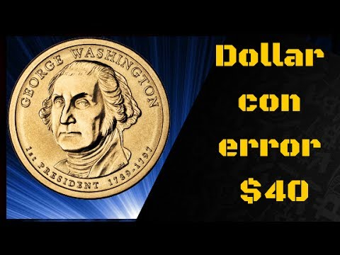 Moneda de George Washington (Dolar presidencial)
