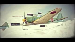 World of Warplanes. Трейлер. Японские самолеты