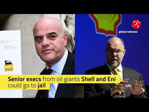 Shell and Eni on trial
