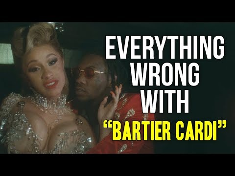 Everything Wrong With Cardi B  Bartier Cardi