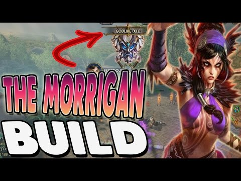 Smite: The Morrigan Auto Attack Build - THIS GOD IS SO CRAZY!