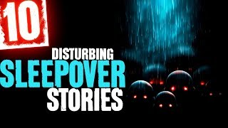 10 SCARY Sleepover Stories with Night Sounds and Relaxing Sound Effects